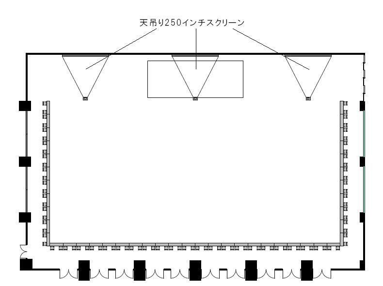 ロノ字:88名