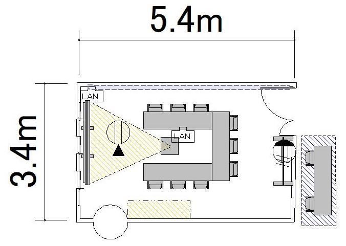 ロノ字:6名
